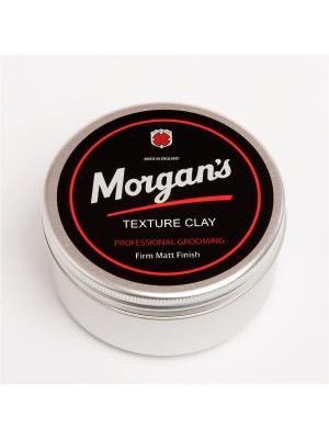 Матовая глина для укладки волос Morgans 100 мл MORGAN'S. Цвет: черный