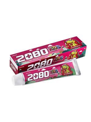 Зубная паста  КЛУБНИКА 80г Kerasys. Цвет: розовый