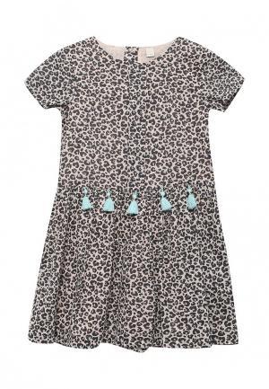 Платье Esprit. Цвет: коричневый