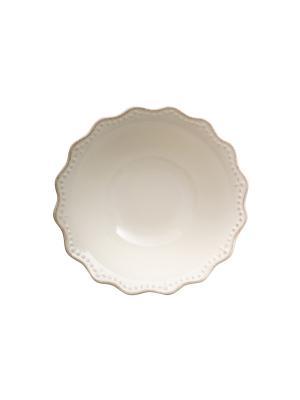 Салатник CROWNE H&H. Цвет: белый