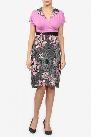 Платье M&L Collection. Цвет: фиолетовый