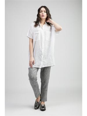 Блузка PIKANTO. Цвет: белый