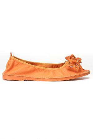 Балетки FRANCESCA V.. Цвет: оранжевый