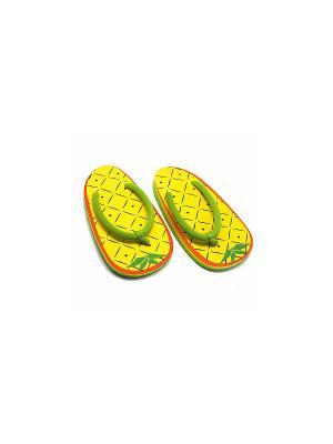 Сланцы Pineapple Kawaii Factory. Цвет: желтый