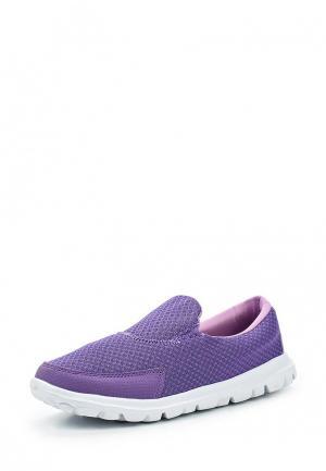 Слипоны Ascot. Цвет: фиолетовый