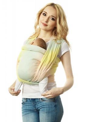 Слинг-шарф Mum`s Era. Цвет: желтый, серо-зеленый, кремовый