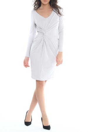 Платье Moda di Chiara. Цвет: серый