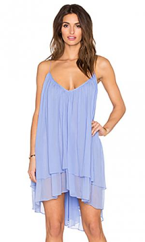 Мини платье echo FADDOUL. Цвет: синий