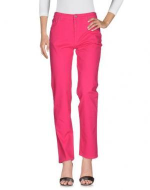 Джинсовые брюки GAI MATTIOLO JEANS. Цвет: фуксия
