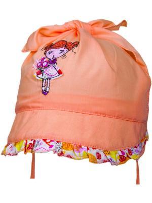 Панамка YO!. Цвет: светло-оранжевый
