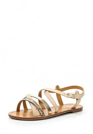 Сандалии Style Shoes. Цвет: бежевый