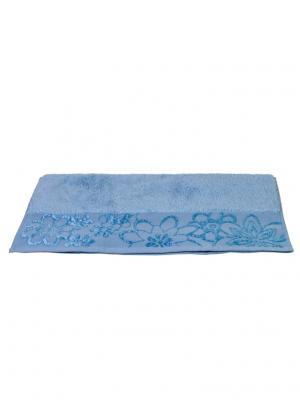 Махровое полотенце 50x90 DORA св. голубое,100% хлопок HOBBY HOME COLLECTION. Цвет: светло-голубой