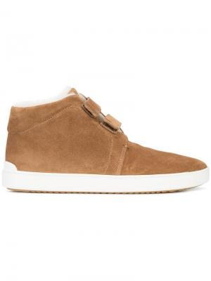 Ботинки с подкладкой из искусственного меха Rag & Bone. Цвет: коричневый