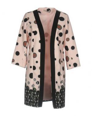 Легкое пальто PAOLO CASALINI. Цвет: светло-розовый