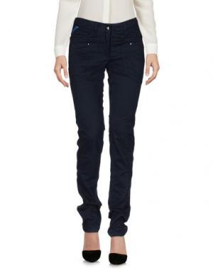 Повседневные брюки PIERO GUIDI. Цвет: темно-синий