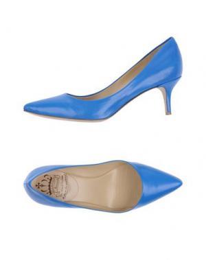 Туфли L'ARIANNA. Цвет: синий