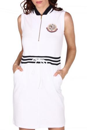 Платье Galvanni. Цвет: белый