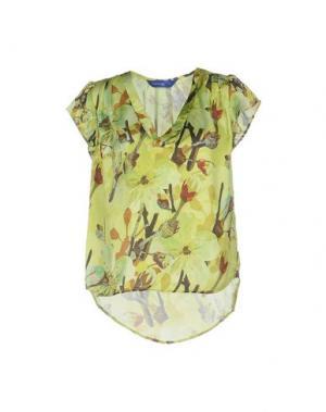 Блузка ANONYME DESIGNERS. Цвет: кислотно-зеленый