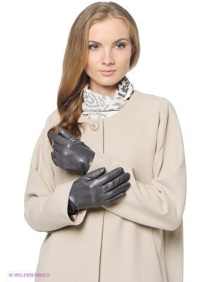 Перчатки женские Piero. Цвет: серый
