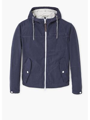 Куртка MANGO MAN. Цвет: индиго