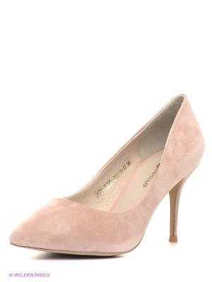 Туфли Eva Mayer. Цвет: бледно-розовый