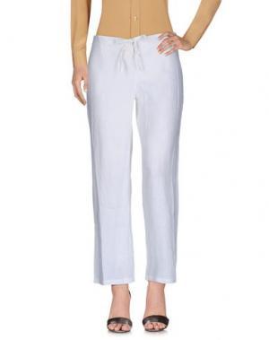 Повседневные брюки ICONIQUE. Цвет: белый