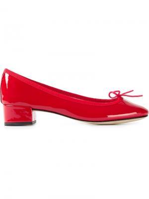 Балетки Camille Repetto. Цвет: красный