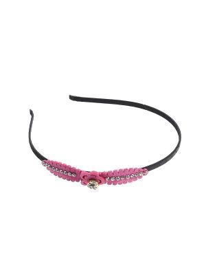 Ободок Gusachi. Цвет: розовый, черный