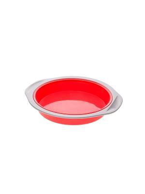 Форма для запекания Floret Plus Elff Ceramics. Цвет: красный