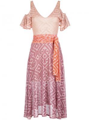 Knit midi dress Cecilia Prado. Цвет: многоцветный