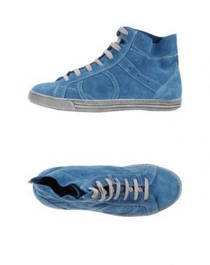 Высокие кеды и кроссовки PLAYHAT. Цвет: синий