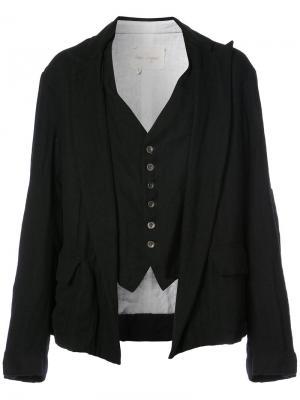 Куртка Oliver Greg Lauren. Цвет: чёрный