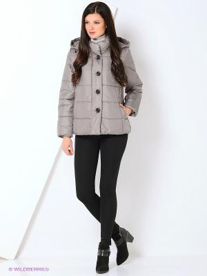 Куртка женская DIXI CoAT. Цвет: серый