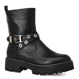 Ботинки  RA0861 черный GIANNI RENZI