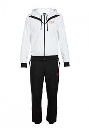 Спортивный костюм EA7. Цвет: белый