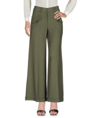 Повседневные брюки KATIA G.. Цвет: зеленый-милитари