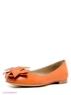 Балетки Svetski. Цвет: оранжевый