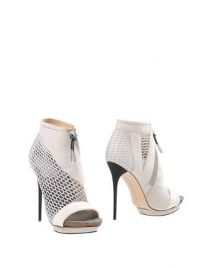 Полусапоги и высокие ботинки L.A.M.B.. Цвет: светло-серый