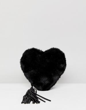 Essentiel Antwerp Сумка на плечо. Цвет: черный