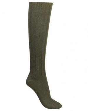 Носки MAISON MARGIELA. Цвет: зеленый-милитари