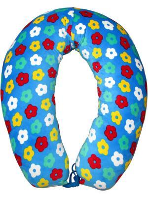 Подушка для беременных и кормления 40 недель. Цвет: голубой, зеленый, красный