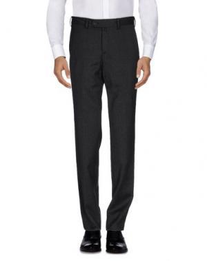 Повседневные брюки VERDERA. Цвет: стальной серый
