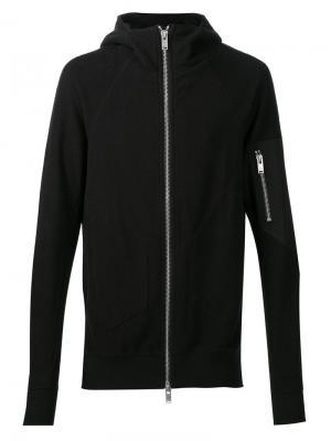 Zipped hoodie Siki Im. Цвет: чёрный