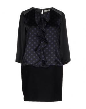 Короткое платье E_GO' SONIA DE NISCO. Цвет: черный