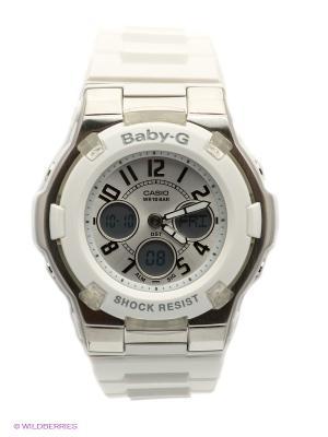 Часы Baby-G BGA-110-7B CASIO. Цвет: белый