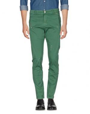 Повседневные брюки SSEINSE. Цвет: зеленый