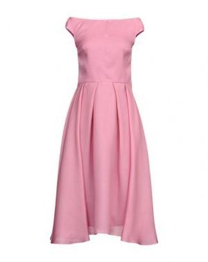 Платье длиной 3/4 IVAN MONTESI. Цвет: розовый