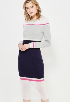 Платье Tommy Hilfiger. Цвет: разноцветный