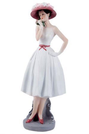 Статуэтка Мисс Нежность Русские подарки. Цвет: белый