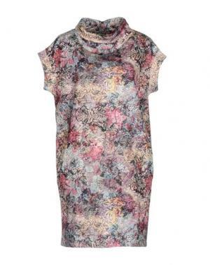 Короткое платье JIJIL. Цвет: фиолетовый